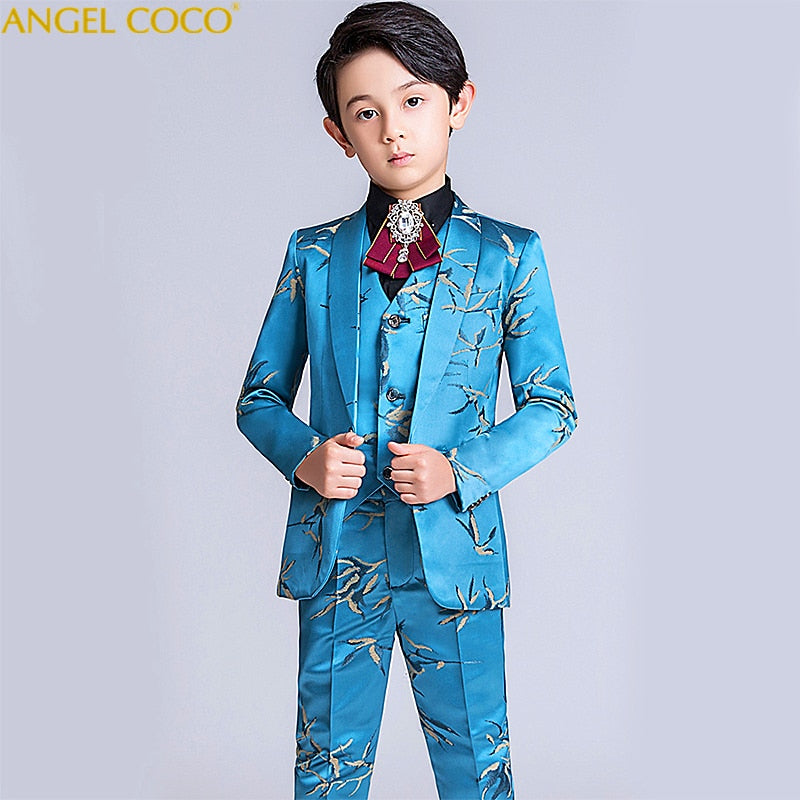 Boys suits for weddings dress formal costume, 6T, 6T, [option2], [option3] - anythinganyware