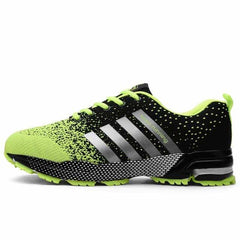 Breathable Running Shoes Fashion Large Size Sports Shoes, Green / 5.5, Green, 5.5, [option3] - anythinganyware
