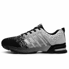 Breathable Running Shoes Fashion Large Size Sports Shoes, Gray / 13, Gray, 13, [option3] - anythinganyware
