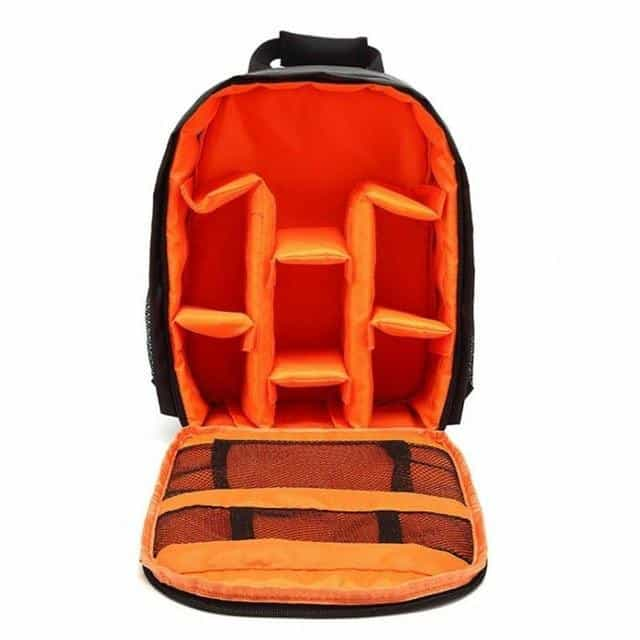 Outdoor Camera Bag Case, Orange, Orange, [option2], [option3] - anythinganyware