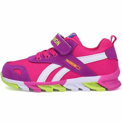 Casual kids school sneakers shoes, pink purple / 11, pink purple, 11, [option3] - anythinganyware
