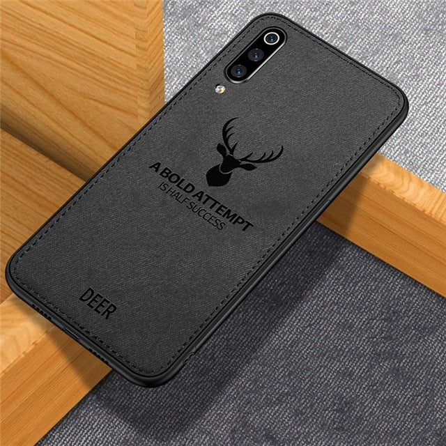 Classic Fabric Case For Samsung galaxy A50 A30 Case, Black / For Samsung A60, Black, For Samsung A60, [option3] - anythinganyware