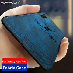 Classic Fabric Case For Samsung galaxy A50 A30 Case, [variant_title], [option1], [option2], [option3] - anythinganyware
