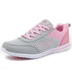 Breathable Women Light Weight Athletic Traning Shoes, Pink / 5 / China, Pink, 5, China - anythinganyware