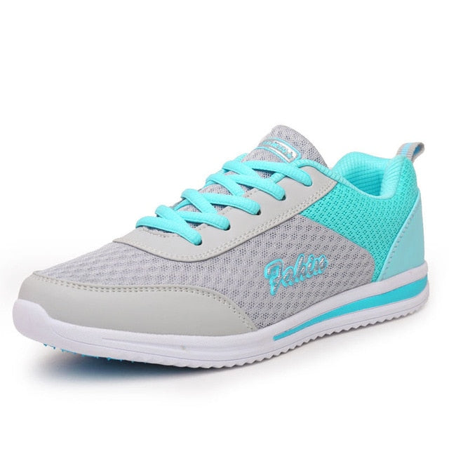 Breathable Women Light Weight Athletic Traning Shoes, Blue / 5 / China, Blue, 5, China - anythinganyware