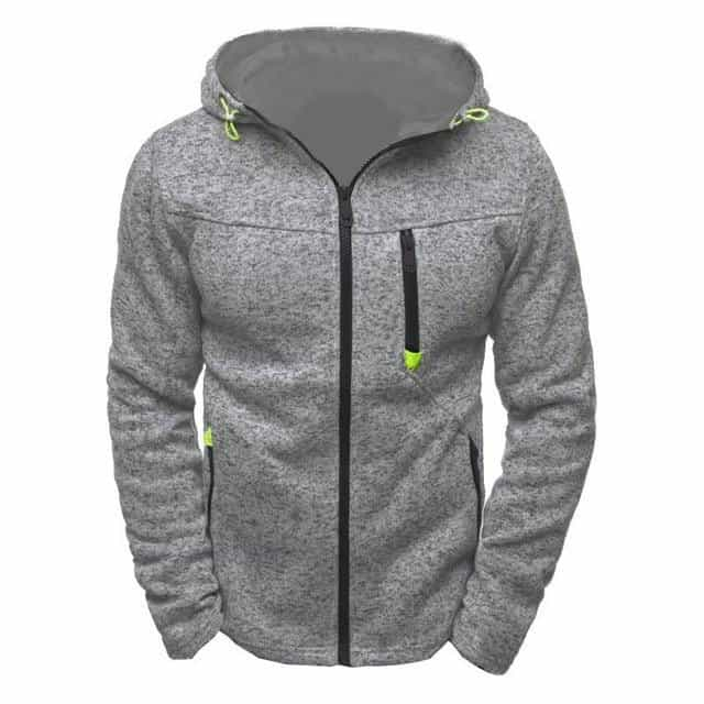 Hoodies Men Fashion, Gray / L, Gray, L, [option3] - anythinganyware
