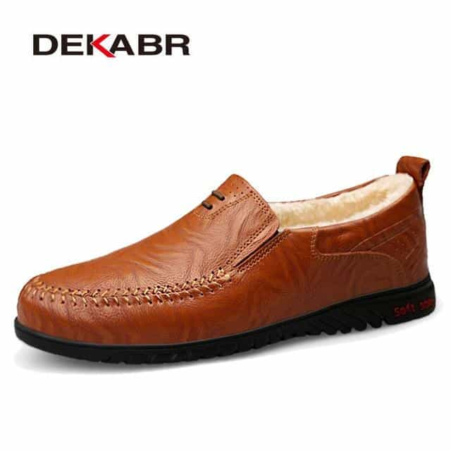 Men Shoes Genuine leather  Casual Shoes, 01 Fur Red Brown / 6, 01 Fur Red Brown, 6, [option3] - anythinganyware