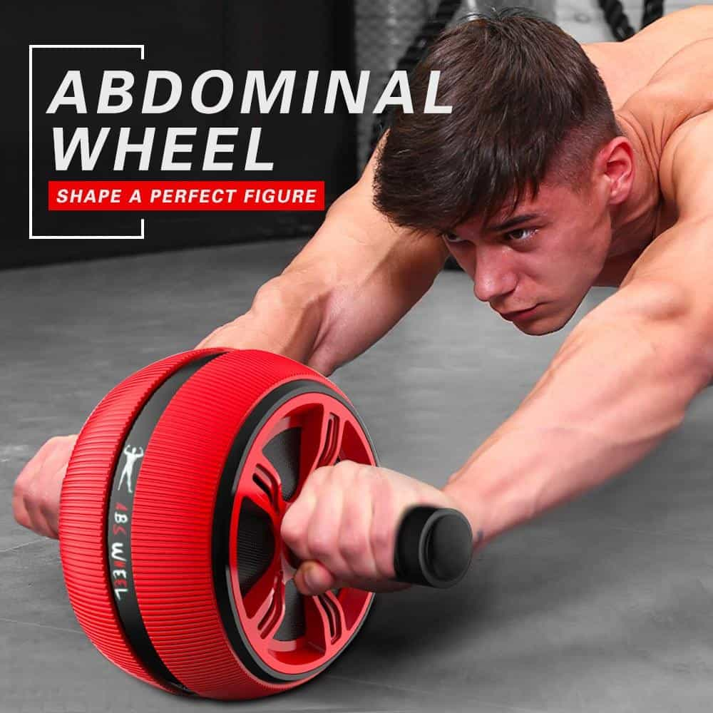 Silent TPR Abdominal Wheel Roller Trainer Fitness, [variant_title], [option1], [option2], [option3] - anythinganyware