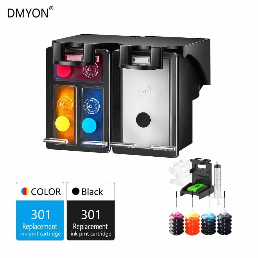 Compatible 301XL Refill Ink Cartridge Replacement, [variant_title], [option1], [option2], [option3] - anythinganyware