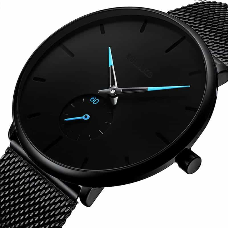 Casual Slim Mesh Steel Waterproof Sport Watch, [variant_title], [option1], [option2], [option3] - anythinganyware