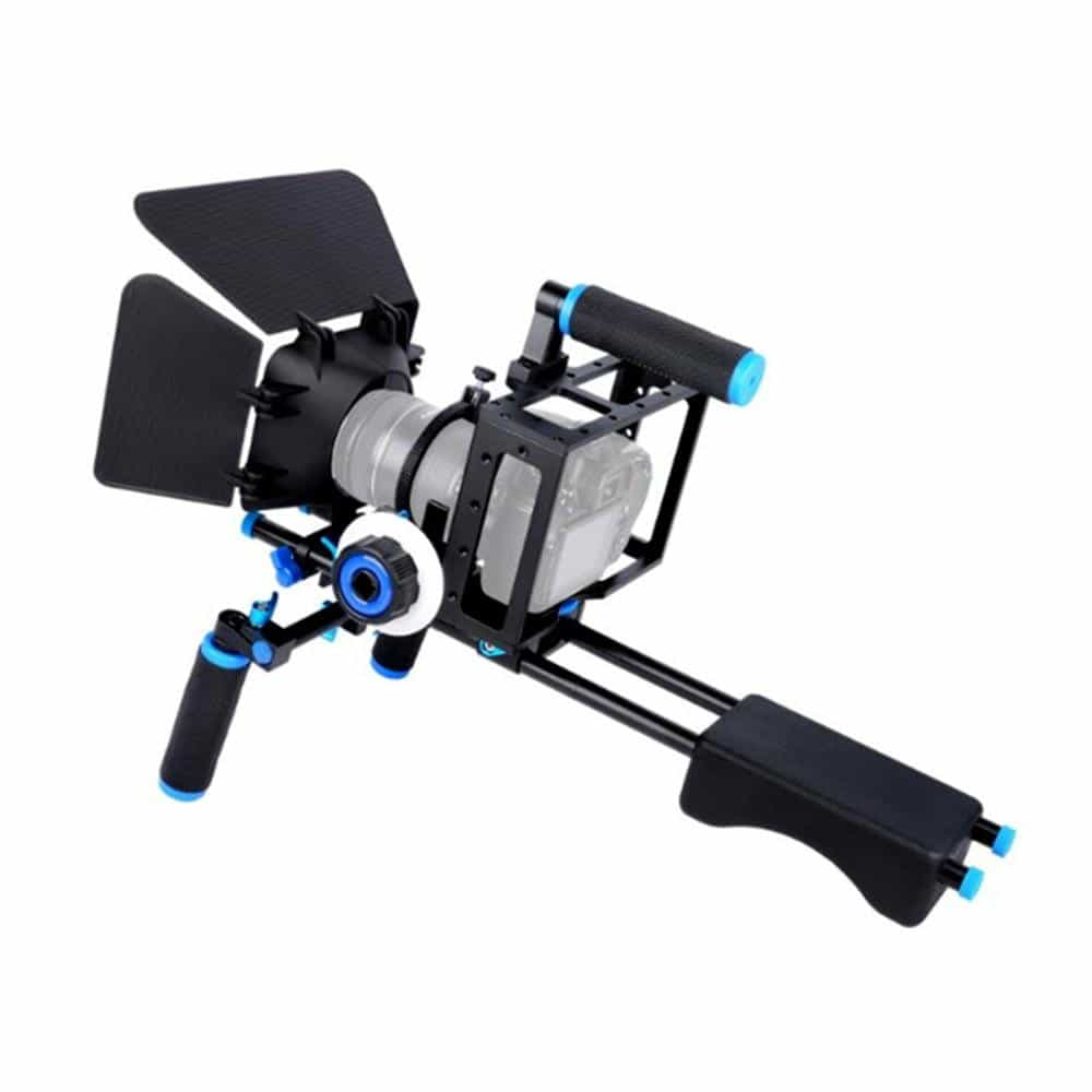 Camera Cage Kit Shoulder Stabilizer System, [variant_title], [option1], [option2], [option3] - anythinganyware