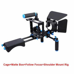 Camera Cage Kit Shoulder Stabilizer System, D222, D222, [option2], [option3] - anythinganyware