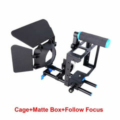Camera Cage Kit Shoulder Stabilizer System, C100, C100, [option2], [option3] - anythinganyware