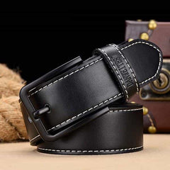 leather belt male male genuine leather strap, C NZ818 black / 110CM, C NZ818 black, 110CM, [option3] - anythinganyware