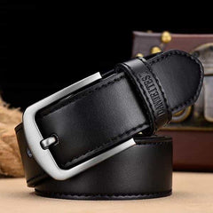 leather belt male male genuine leather strap, A NZ815 black / 105CM, A NZ815 black, 105CM, [option3] - anythinganyware