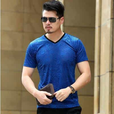 Diamond pattern silk soft quality men shirt, as picture106 / XXXL107, as picture106, XXXL107, [option3] - anythinganyware