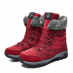 EOFK Women Boots Woman, red / 9, red, 9, [option3] - anythinganyware