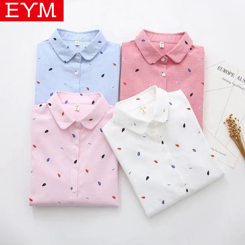 Shirts Women 2019 Spring New Women Long Sleeve Blouse, [variant_title], [option1], [option2], [option3] - anythinganyware