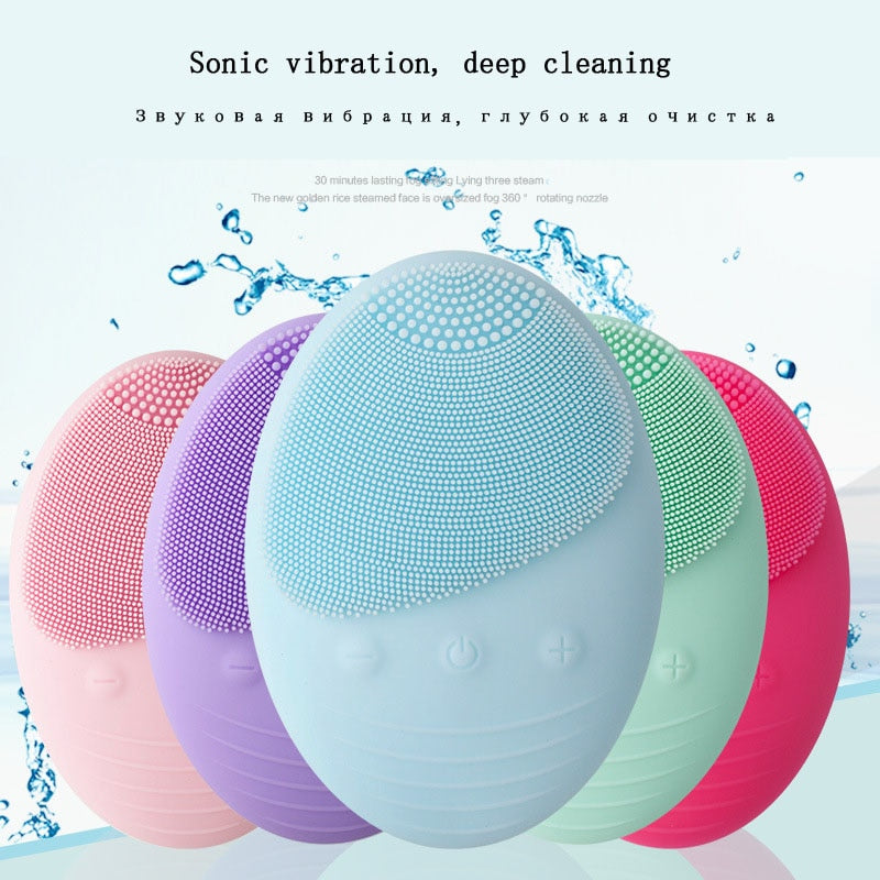 Electric face Facial Cleansing Brush, [variant_title], [option1], [option2], [option3] - anythinganyware
