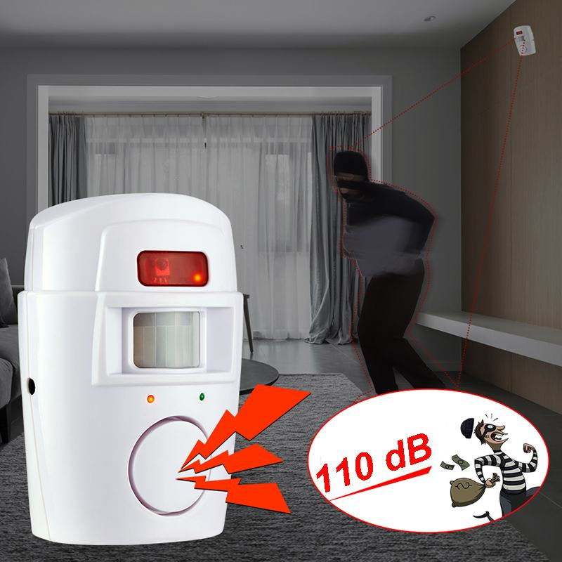 Electronic Dog 110dB Wireless Home Security Alarm System, [variant_title], [option1], [option2], [option3] - anythinganyware