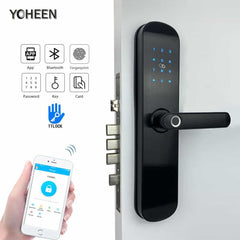 Electronic Security Fingerprint Door Lock for Home, [variant_title], [option1], [option2], [option3] - anythinganyware