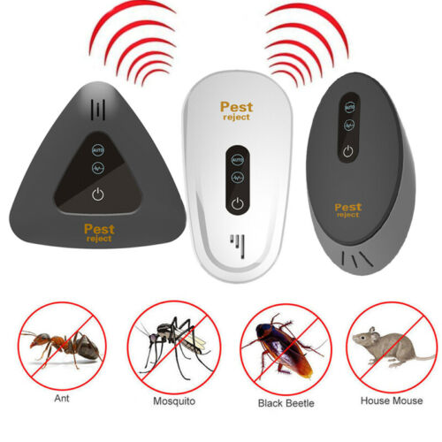 Electronic Ultrasonic Pest Reject Bug Mosquito Cockroach Mouse Killer Repeller, [variant_title], [option1], [option2], [option3] - anythinganyware