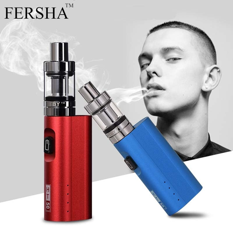 Electronic Cigarette 50W Adjustable vape mod box kit, [variant_title], [option1], [option2], [option3] - anythinganyware