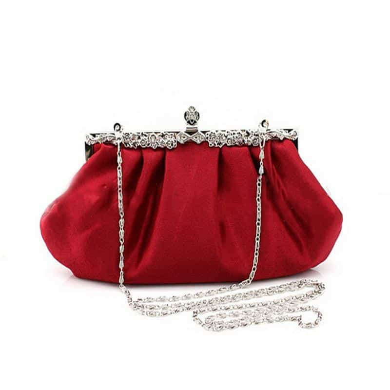 Fashion Design Long full Dress Solid Color red Evening Bags, [variant_title], [option1], [option2], [option3] - anythinganyware