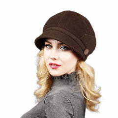 Fashion Fall Winter Retro Women's Fedora Caps, [variant_title], [option1], [option2], [option3] - anythinganyware