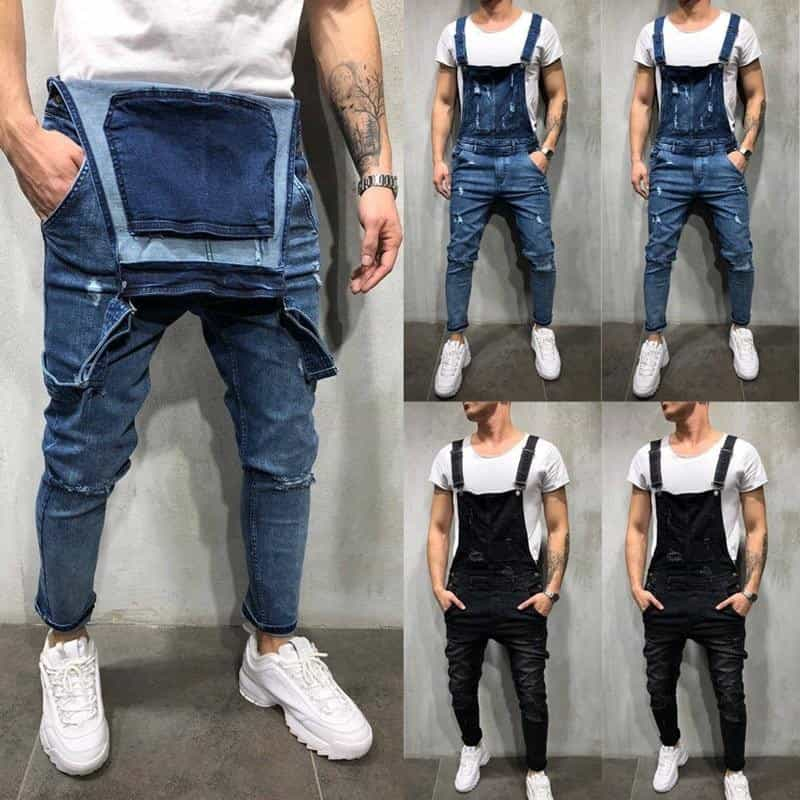 Fashion Men's Ripped Skinny Jeans, [variant_title], [option1], [option2], [option3] - anythinganyware