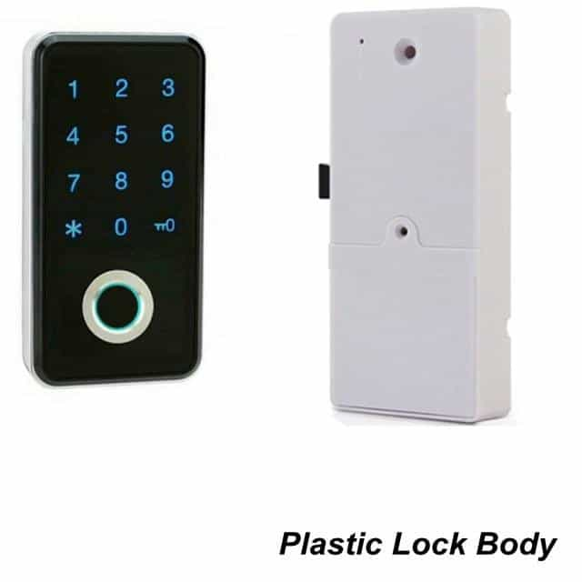 Fingerprint Password Combination Smart Lock, Plastic Lock Body, Plastic Lock Body, [option2], [option3] - anythinganyware