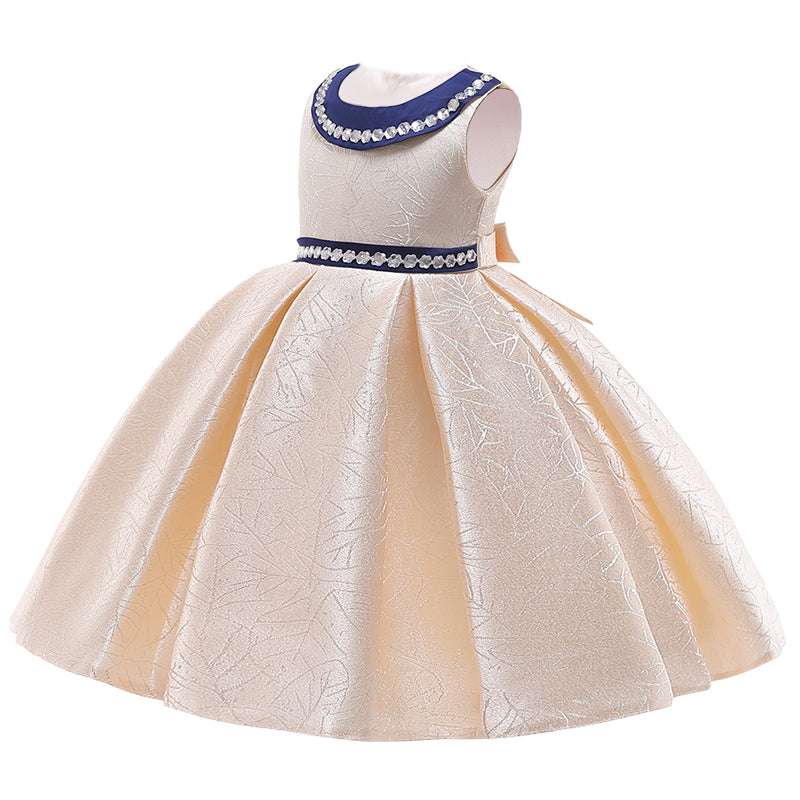 Flower Girls Dress For Girls Elegant Princess Dress, [variant_title], [option1], [option2], [option3] - anythinganyware