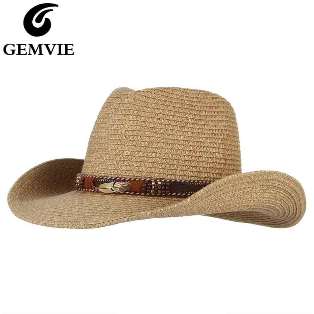 Western Cowboy Hat Sun Hat For Men, [variant_title], [option1], [option2], [option3] - anythinganyware