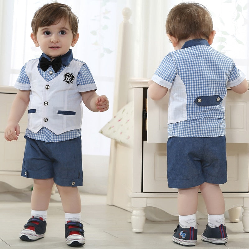 Gentleman Suit Kids Dresses For Boy, [variant_title], [option1], [option2], [option3] - anythinganyware