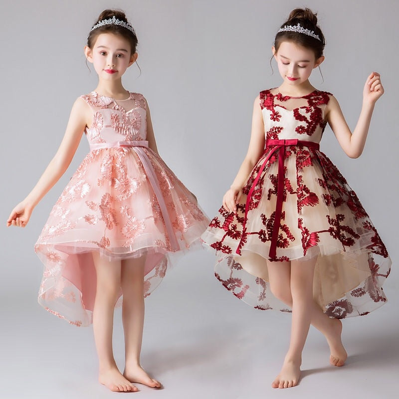 Girls Dress Elegant Princess Dress Kids Dresses for Girls, [variant_title], [option1], [option2], [option3] - anythinganyware