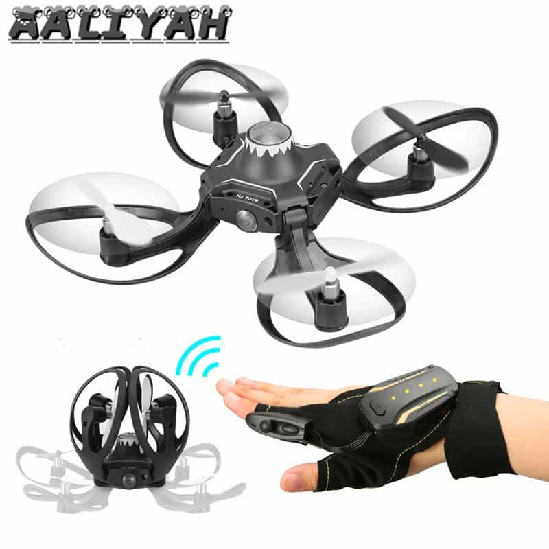 Glove Controlled Drone Quadcopter with Camera, [variant_title], [option1], [option2], [option3] - anythinganyware