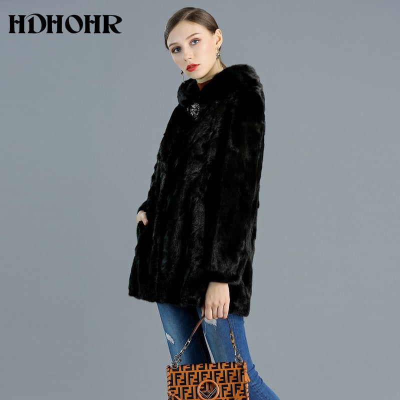 High Quality Real Mink Fur Coat Women Natural Jackets Winter, [variant_title], [option1], [option2], [option3] - anythinganyware