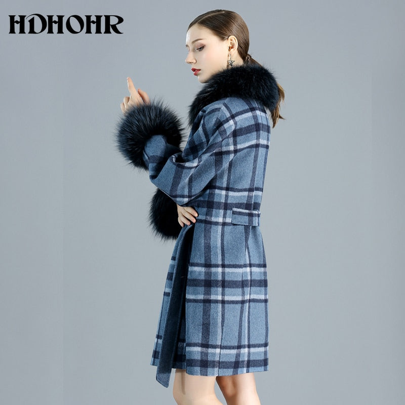 Cashmere Coat Women Winter Natural Real Fox Fur Jacket, [variant_title], [option1], [option2], [option3] - anythinganyware