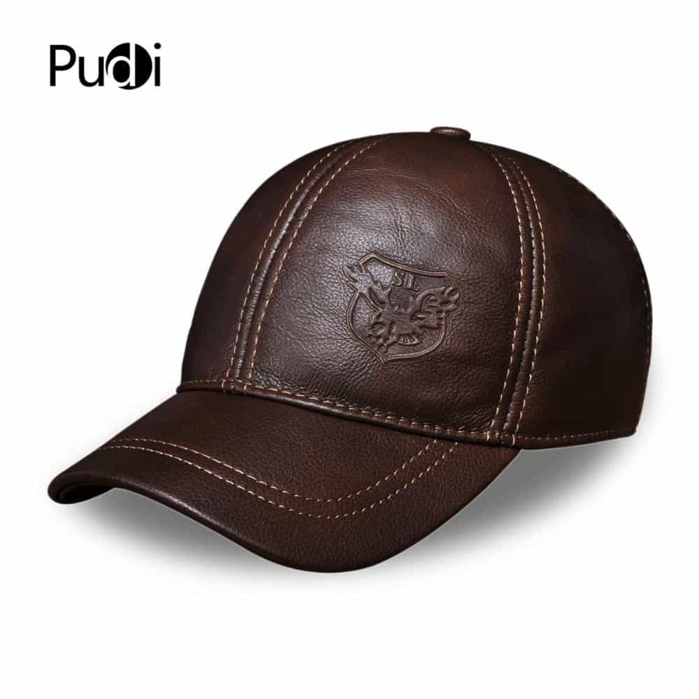 genuine leather baseball cap, [variant_title], [option1], [option2], [option3] - anythinganyware