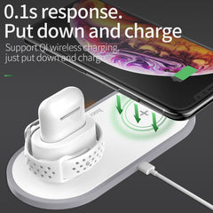 3 in 1 Qi Wireless Charger Pad for iPhone, [variant_title], [option1], [option2], [option3] - anythinganyware