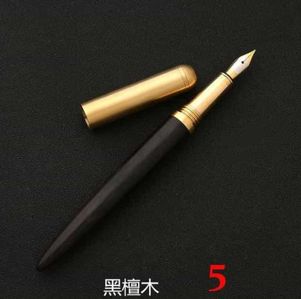 High Quality Luxury wood fountain pen ink pen nib, 5, 5, [option2], [option3] - anythinganyware