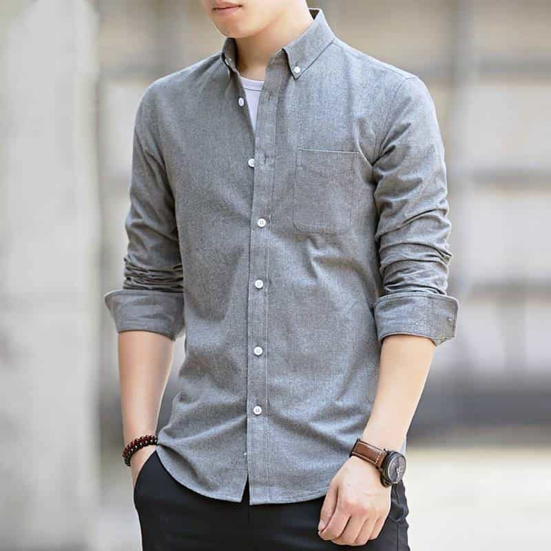 High-quality long-sleeved shirts for men's, [variant_title], [option1], [option2], [option3] - anythinganyware