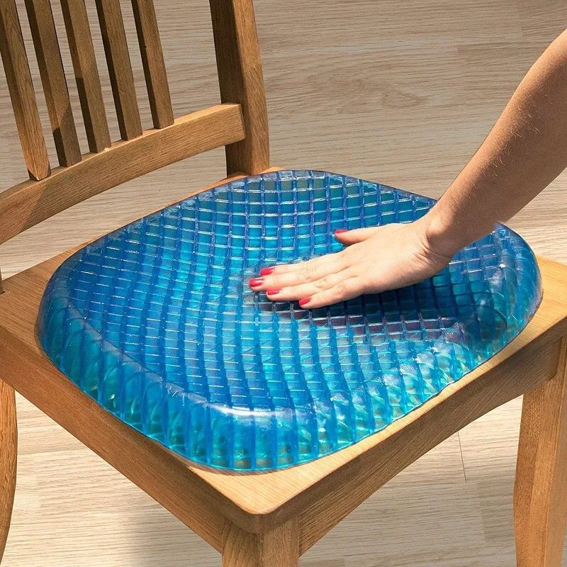 High quality seat cushion Fashion 3D ice pad gel, 42x34cm, 42x34cm, [option2], [option3] - anythinganyware