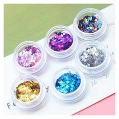 Holographic Sequins Eye Face Body Glitter Multicolor, [variant_title], [option1], [option2], [option3] - anythinganyware