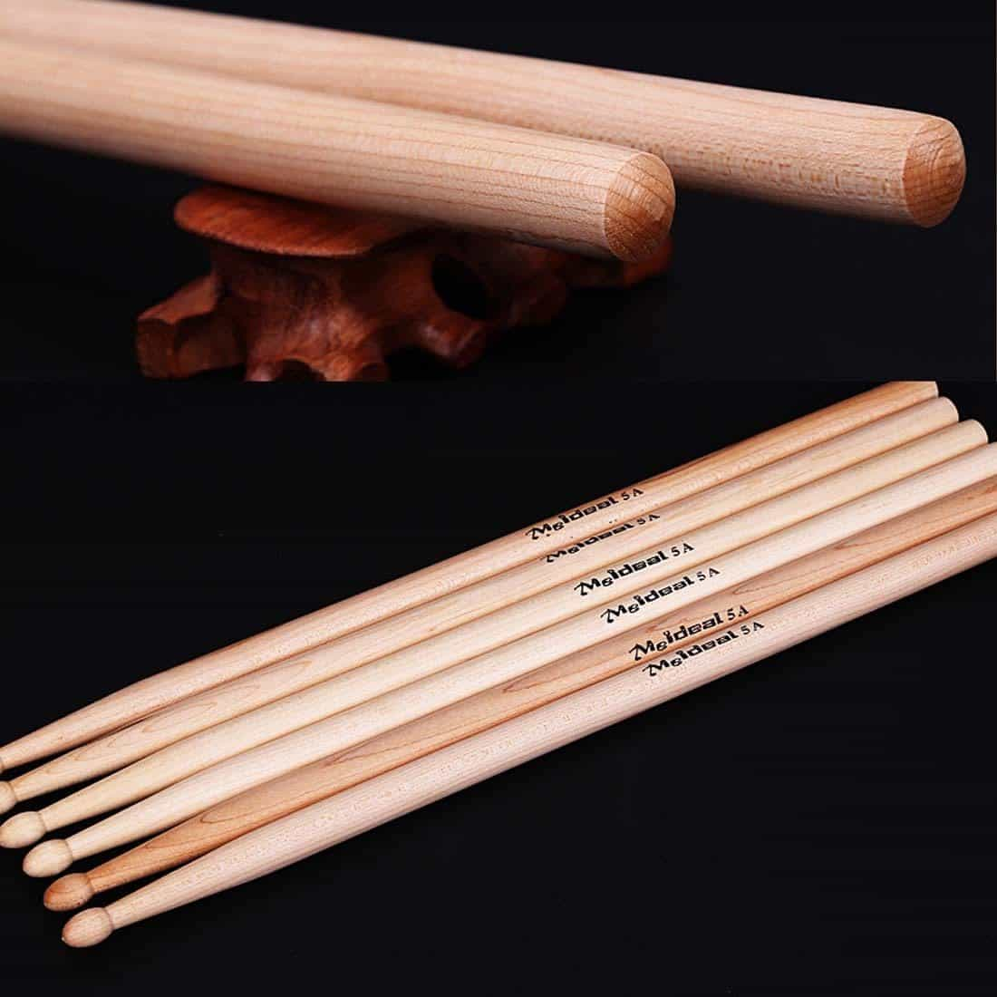 Hot 1Pair Professional North American Maple Wood Drum Sticks, [variant_title], [option1], [option2], [option3] - anythinganyware
