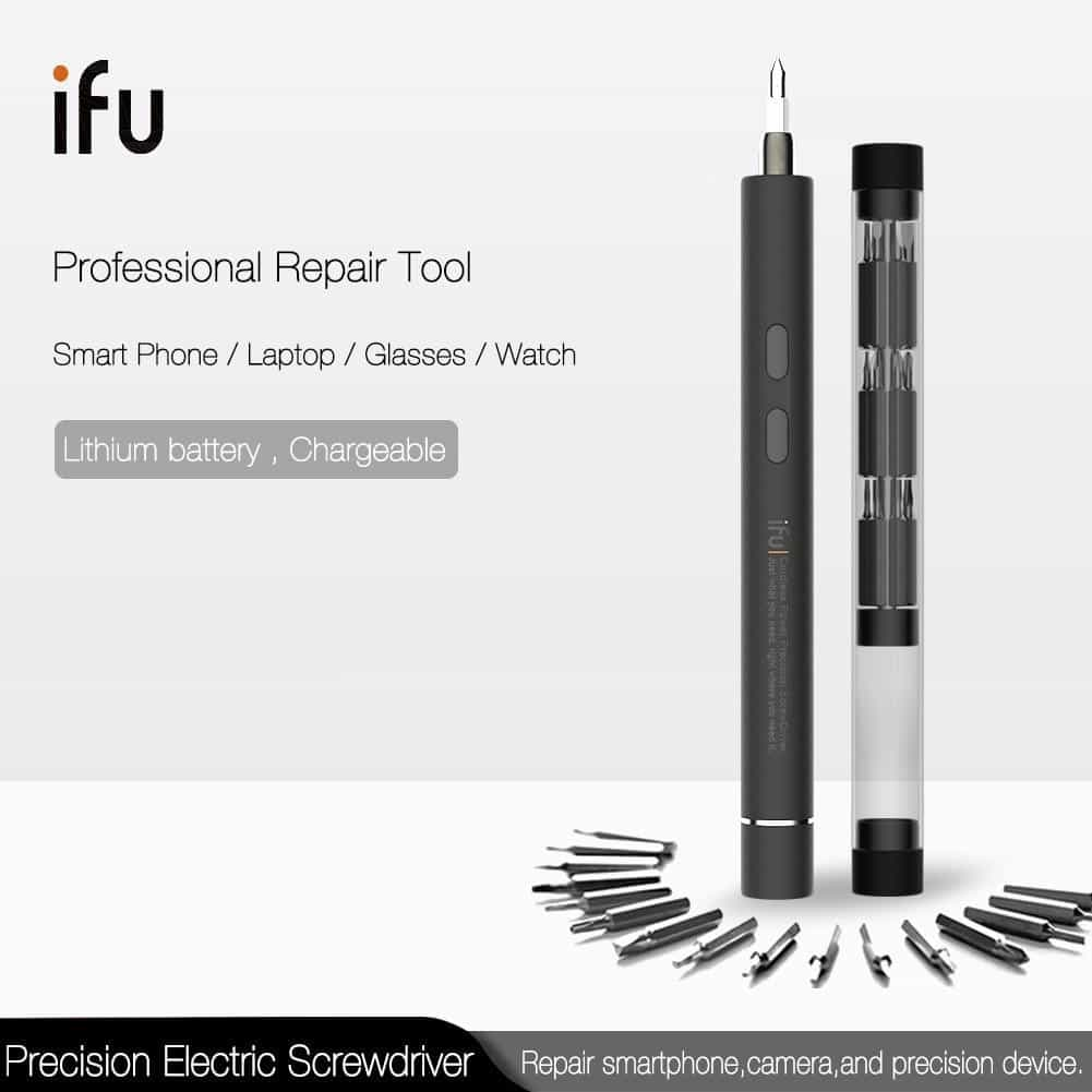 IFu Mini Electric Cordless Magnetic Screw Driver Tool, [variant_title], [option1], [option2], [option3] - anythinganyware