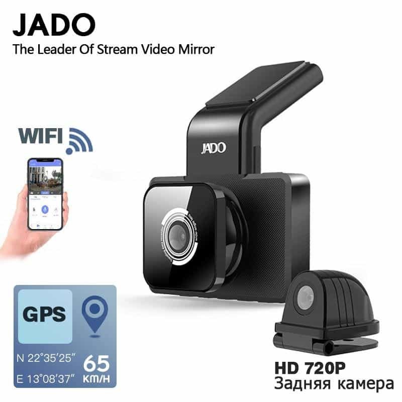 JADO D330 Car DVR Camera WIFI, [variant_title], [option1], [option2], [option3] - anythinganyware