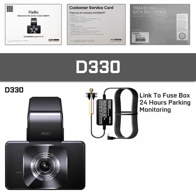 JADO D330 Car DVR Camera WIFI, D330 / With 32G Card, D330, With 32G Card, [option3] - anythinganyware