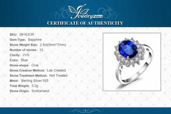 Ring Princess Crown Halo Engagement Wedding Rings, [variant_title], [option1], [option2], [option3] - anythinganyware
