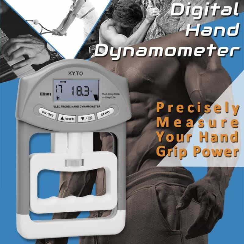 Digital Hand Dynamometer Grip Strength Measurement Meter, [variant_title], [option1], [option2], [option3] - anythinganyware